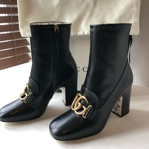 GG marmont Women's Gucci Ankle Boot